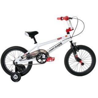 Tony Hawk BMX Boys Black/White 16-inch Bike