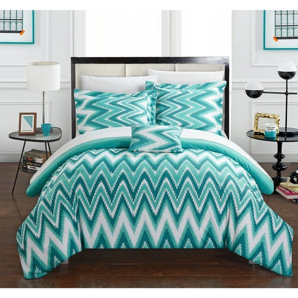 Bed In A Bag Turquoise Comforter Set
