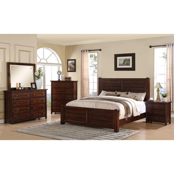 10 Great Ideas To Jazz Up A Small Square Bedroom: Shop Carbon Loft Plumas King Panel 3-piece Bedroom Set