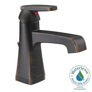 Delta Ashlyn Single Hole 1-Handle High-Arc Bathroom Faucet in Venetian Bronze 564-RBMPU-DST