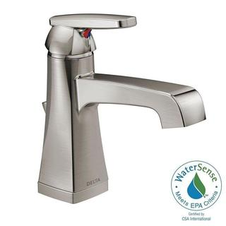 Delta Ashlyn Single Hole 1-Handle High-Arc Bathroom Faucet in Stainless 564-SSMPU-DST