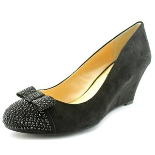 Jessica Simpson Women's Seley Black Fabric Dress Shoes