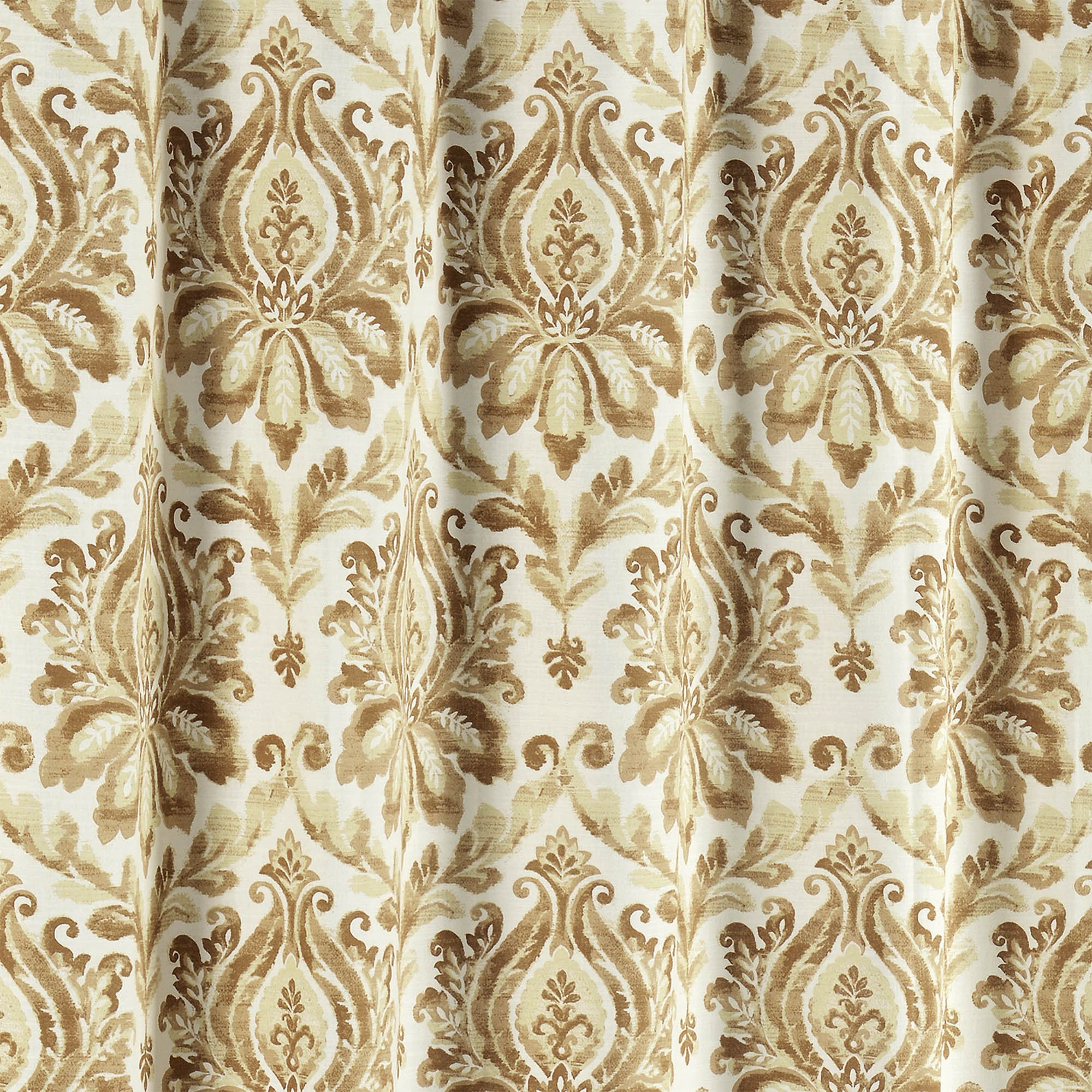 Creative Home Ideas Biltmore 100 Cotton Shower Curtain