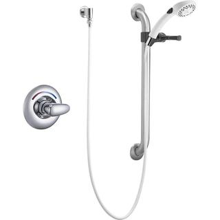 Delta Core Universal 1-Handle Shower Trim in Chrome (Valve Not Included) T13H152