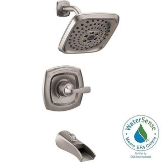 Delta Tolva 1-Handle H2Okinetic Tub and Shower Faucet in Stainless 144724-SS