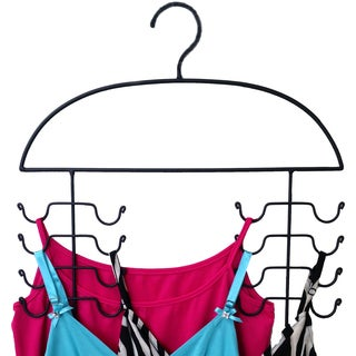 Black Tank Top Hanger 2-Piece Set