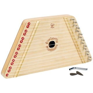 Hape Toys Happy Harp Kids' Wooden Musical Instrument|https://ak1.ostkcdn.com/images/products/12833678/P19599813.jpg?impolicy=medium