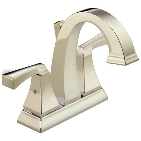 Delta Dryden Two Handle Centerset Lavatory Faucet 2551-PNMPU-DST Polished Nickel
