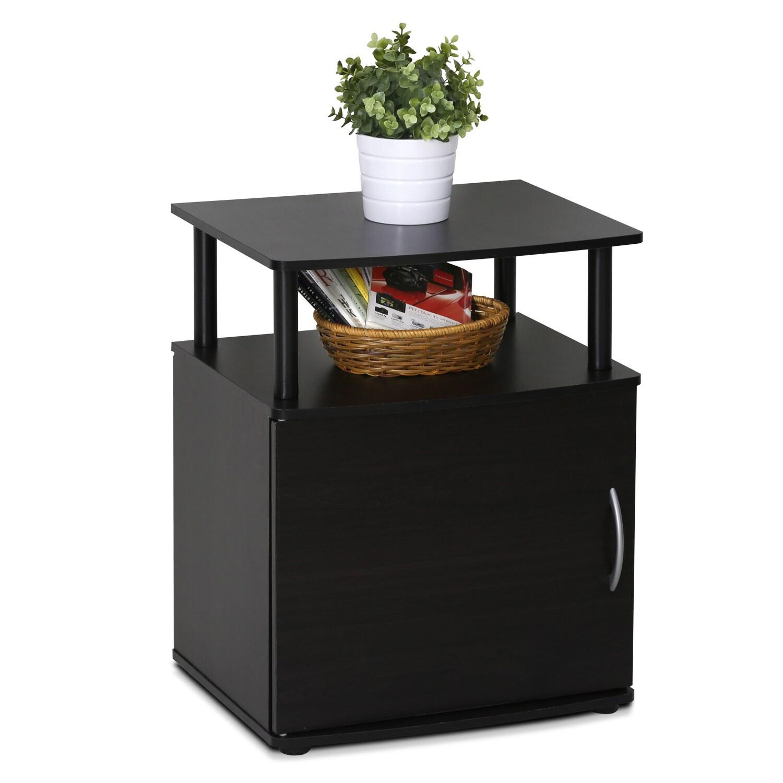 Charmant Porch U0026amp; Den East Village Mangin Black Utility Design Storage End Table