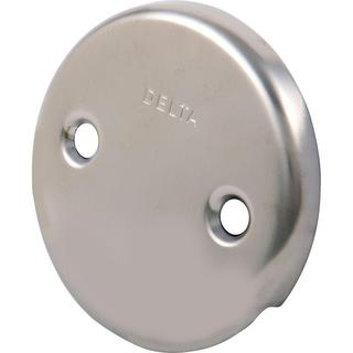 Delta Overflow Plate in Stainless RP7424SS