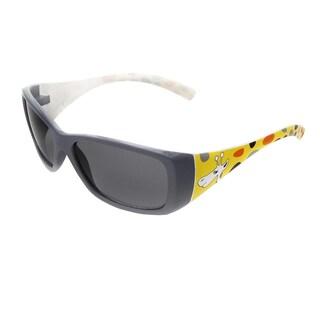 Hot Optix Children's Multicolored Plastic Zoo Collection Giraffe Sunglasses