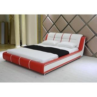 Greatime Modern Upholstered Platform Bed
