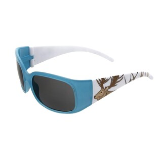 Hot Optix Unisex Children's Zoo Collection Elk Multicolored Plastic Full-frame Sunglasses