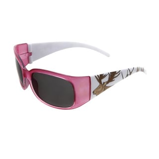 Hot Optix Unisex Children's Zoo Collection Elk Multicolored Plastic Full-frame Sunglasses