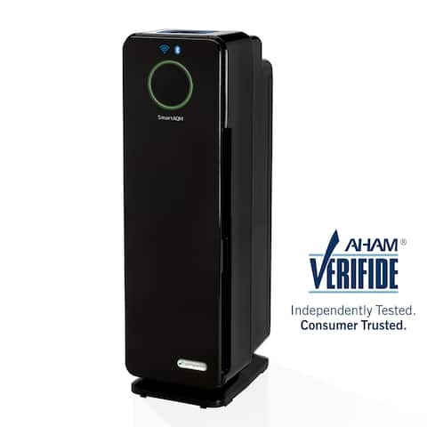 GermGuardian Smart Elite 4-in-1 Odor Reduction and UV-C Sanitation True HEPA 22-inch Tower Air Purifier