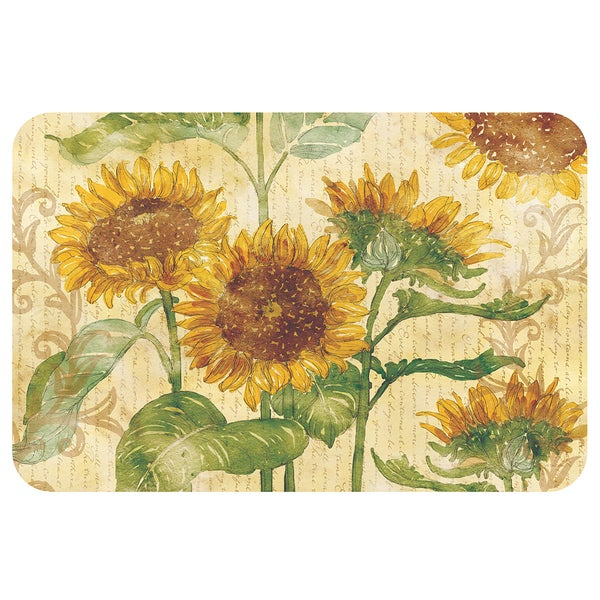 Shop Counterart Sunflowers Reversible Plastic Wipe Clean