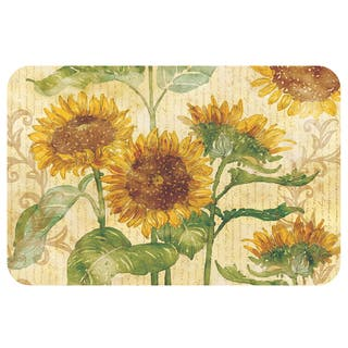 Counterart Sunflowers Reversible Plastic Wipe Clean Placemats (Set of 4)|https://ak1.ostkcdn.com/images/products/12833804/P19599992.jpg?impolicy=medium