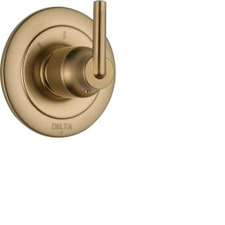 Delta Trinsic Single-Handle 3-Function Diverter Valve in Champagne Bronze T11859-CZ