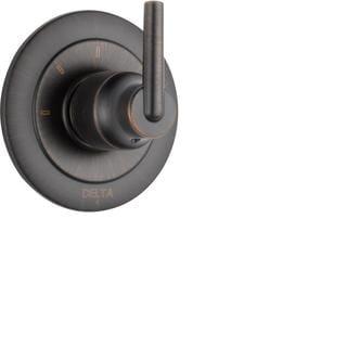 Delta Trinsic Single-Handle 3-Function Diverter Valve in Venetian Bronze T11859-RB