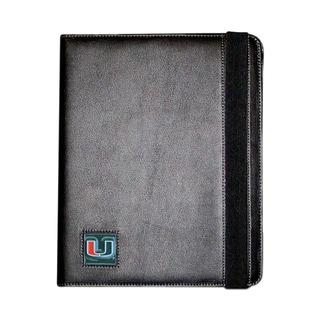 NCAA Miami Hurricanes Black iPad 2 Folio Case