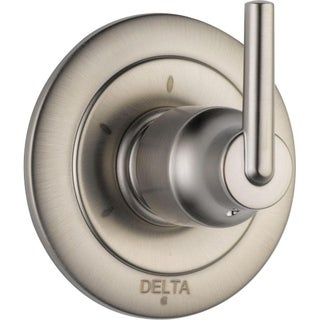 Delta Trinsic Single-Handle 3-Function Diverter Valve in Stainless T11859-SS