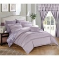 Chic Home 20-Piece Kyrie Room-In-A-Bag Lavender Comforter Set