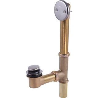 Delta 1-1/4 in. Brass Bath Waste Assembly in Stainless-Steel RP693SS