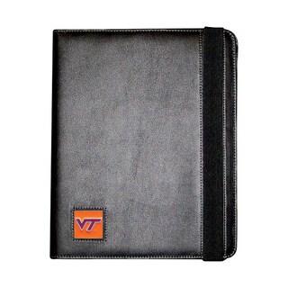 NCAA Virginia Tech Hokies Black Sports Team Logo iPad Folio Case