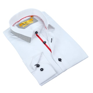Brio Mens White Dress Shirt