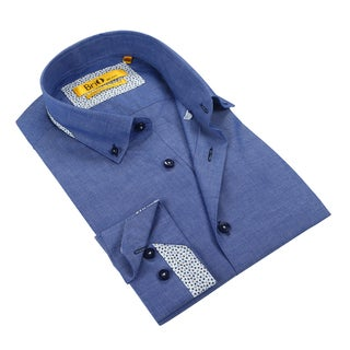 Brio Men's Chambray Dress Shirt