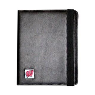 NCAA Wisconsin Badgers Black iPad Folio Case