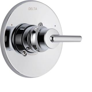 Delta Trinsic Monitor 14 Series 1-Handle Temperature Control Valve Trim Kit in Chrome (Valve Not Included) T14059