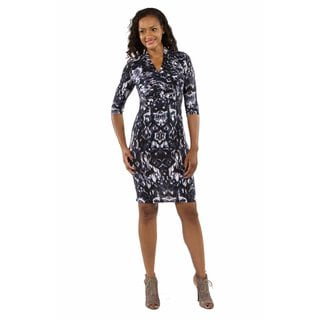 Fabulous Faux Wrap Dress