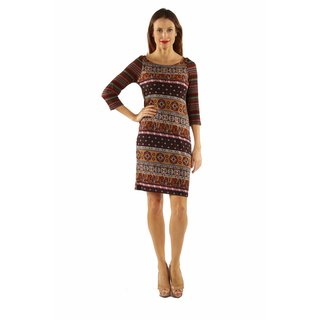 24/7 Comfort Apparel Women's Sensuous but Sensible Dress