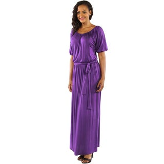 24/7 Comfort Apparel Women's Feminine, Sexy Maxi Dress for Day and Night