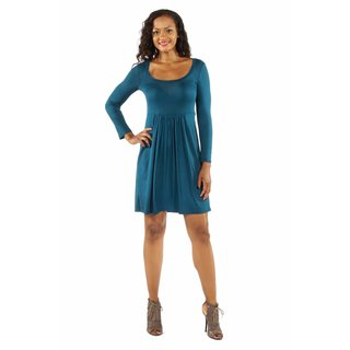 24/7 Comfort Apparel Women's This Just In: The Must Have Midi Dress for Fall