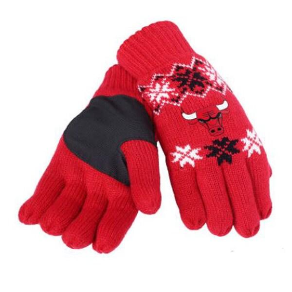 Chicago Bulls NBA Lodge Gloves