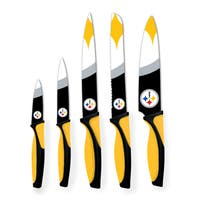 Pittsburgh Steelers NFL 5 Piece Kitchen Knife Set