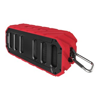 Supersonic SC-1455IPXRD IPX7 Waterproof Bluetooth Floating Portable Speaker - Red