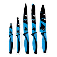 Carolina Panthers NFL 5 Piece Kitchen Knife Set