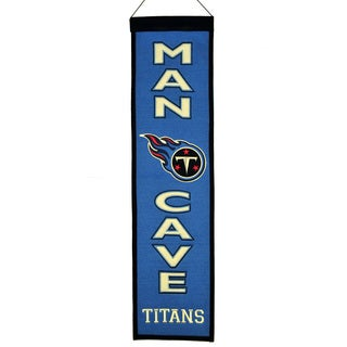 Tennessee Titans NFL Man Cave Banner