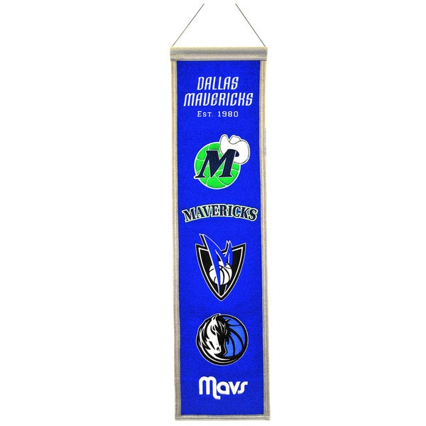 Dallas Mavericks NBA Heritage Banner