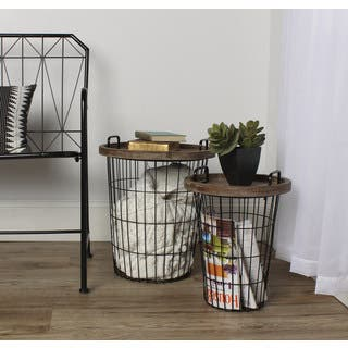 Kate and Laurel Tenby Metal/Wood Tray Nesting Accent End Tables|https://ak1.ostkcdn.com/images/products/12834218/P19600324.jpg?impolicy=medium
