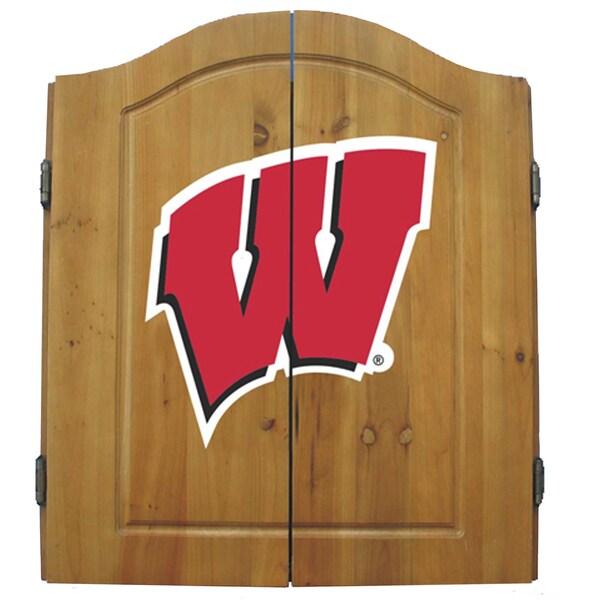 University of Wisconsin Badgers NCAA Dart Cabinet