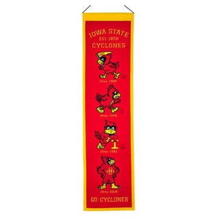 Iowa State Cyclones NCAA Heritage Banner