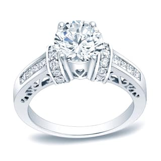 Auriya Platinum 1 1/4ct TDW Diamond 1/2ct Round Engagement Ring|https://ak1.ostkcdn.com/images/products/12834250/P19600384.jpg?impolicy=medium
