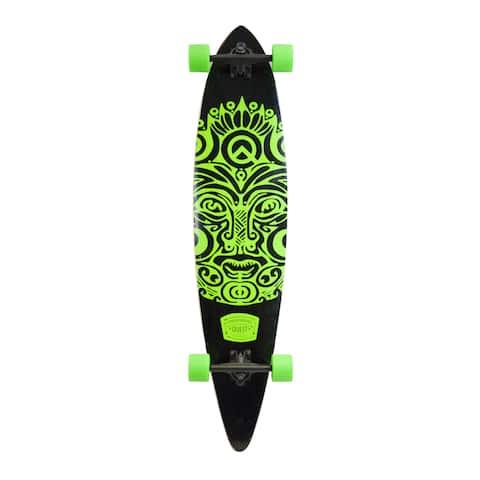Quest Buena Karma Green 44-inch Pintail Longboard Skateboard
