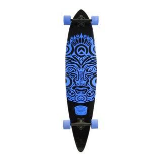 Quest Buena Karma Royal Blue Maple Deck 43-inch Pintail Longboard Skateboard