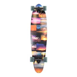Quest Island Sunset 42-inch Pintail Longboard Skateboard