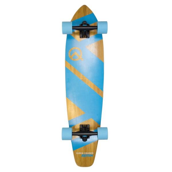 Super Cruiser Remix Wood 36-inch Longboard Skateboard